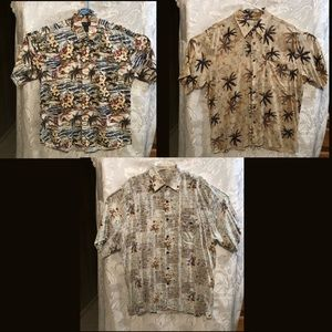 3 Crossings Short Sleeve Button Down Shirts Large